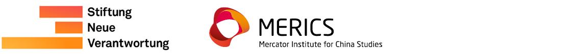 StiftungNeueVerantwortung and MERICS Logo