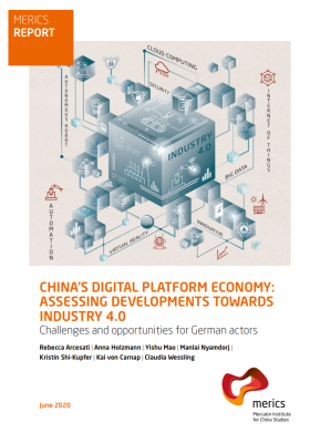 MERICS Report Chinas Digital Platform Economy Cover
