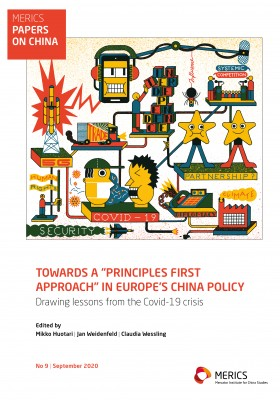 MERICS Paper on China EU-China relations cover