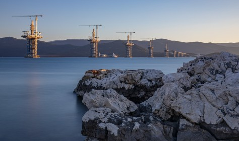 Pelkesac Bridge Construction
