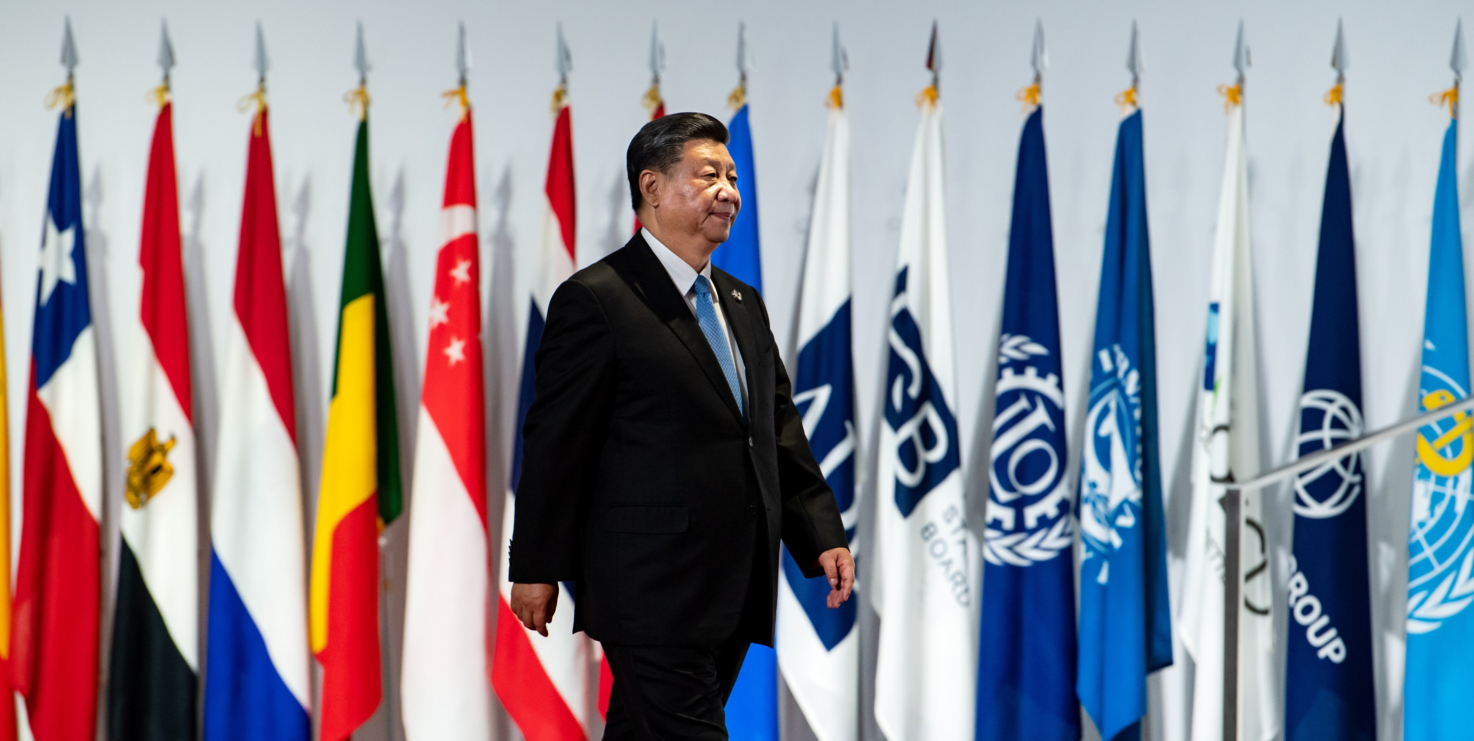 Xi Jinping walks to G20 Summit