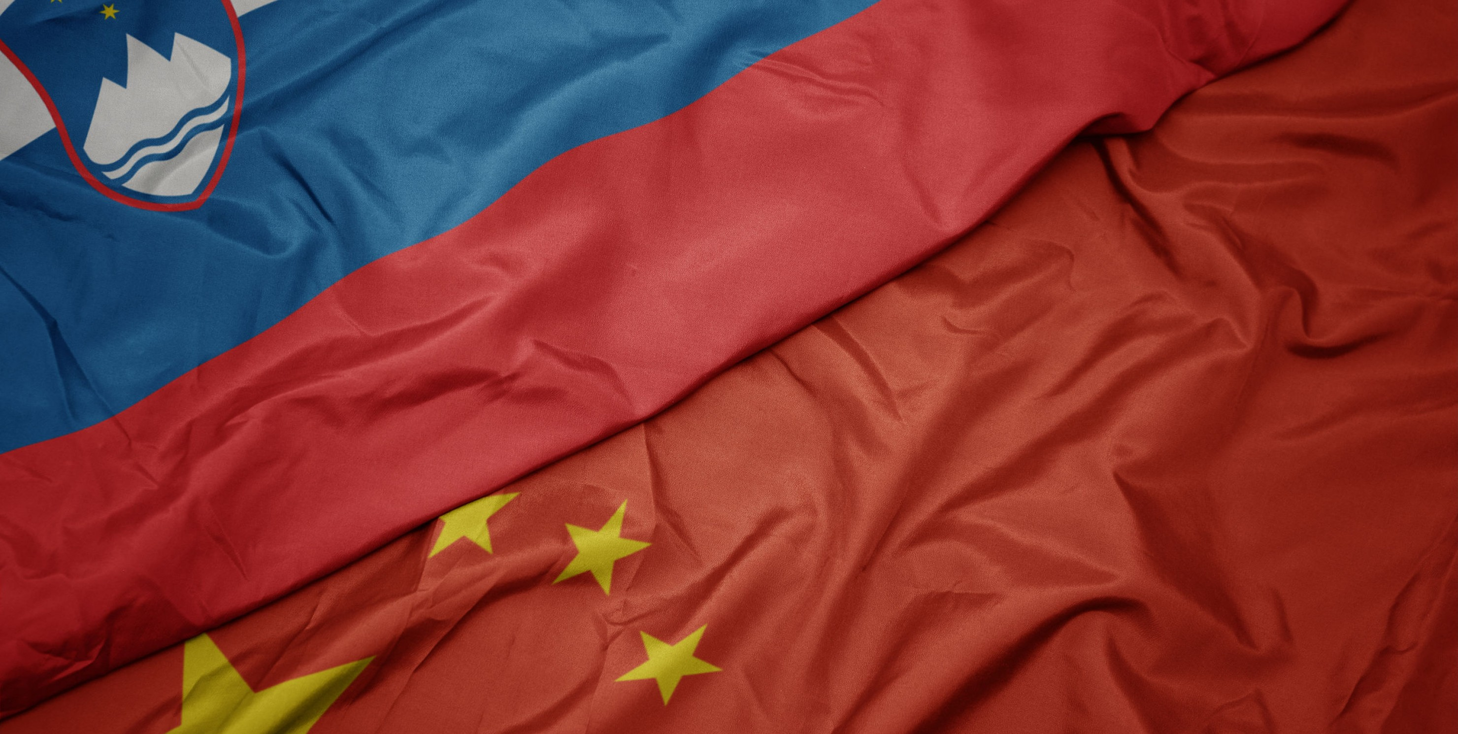 flags of china and slovenia