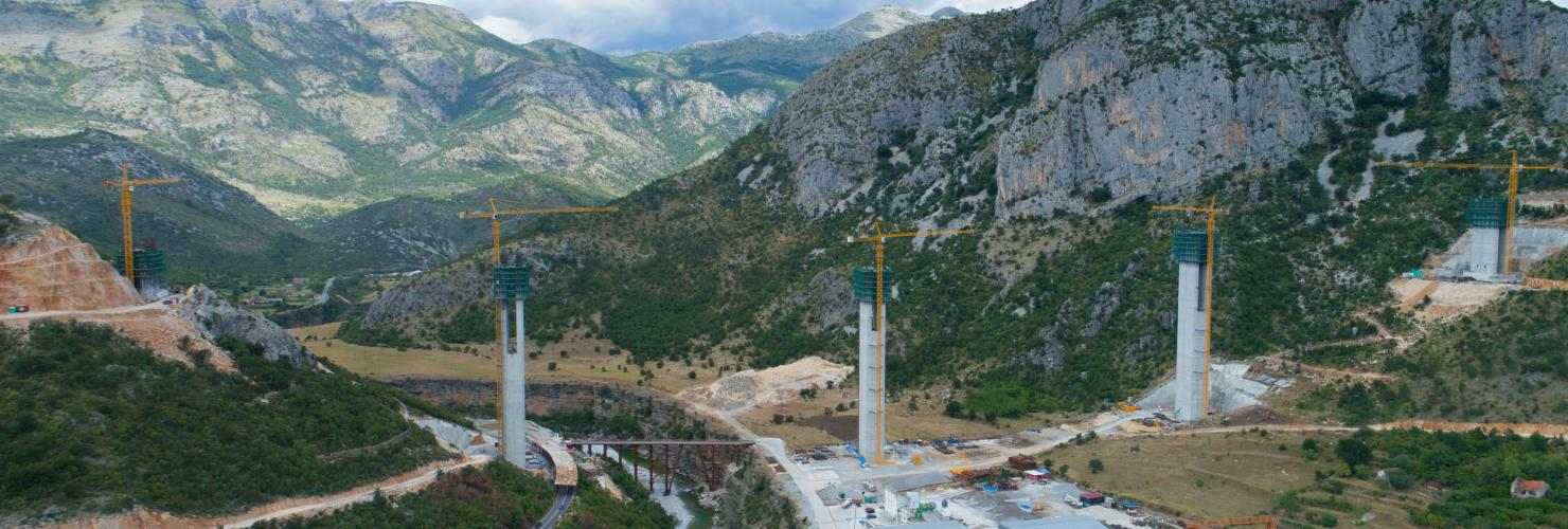 The Bar-Boljare Highway linking Montenegro's Adriatic coast to Serbia is built with a Chinese loan. The ambitious project has added fuel to the debate about debt risks associated with the BRI.