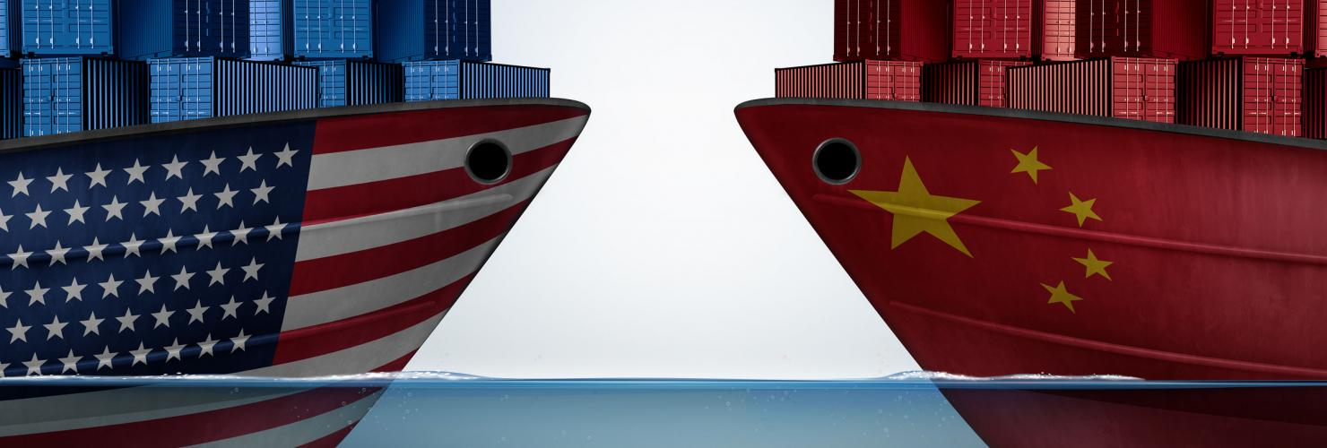 China and the US are facing off on trade and other issues.