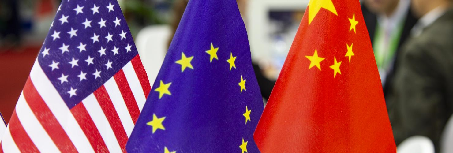 Europe needs to find a position in the rivalry between China and the US.