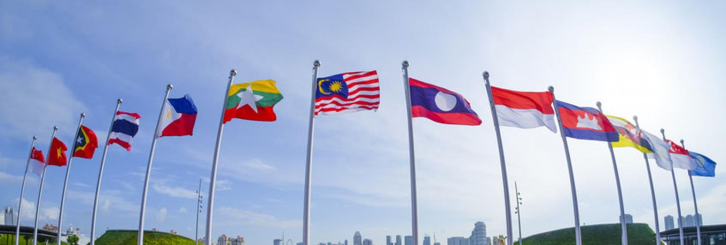 Flags of the ASEAN  member states