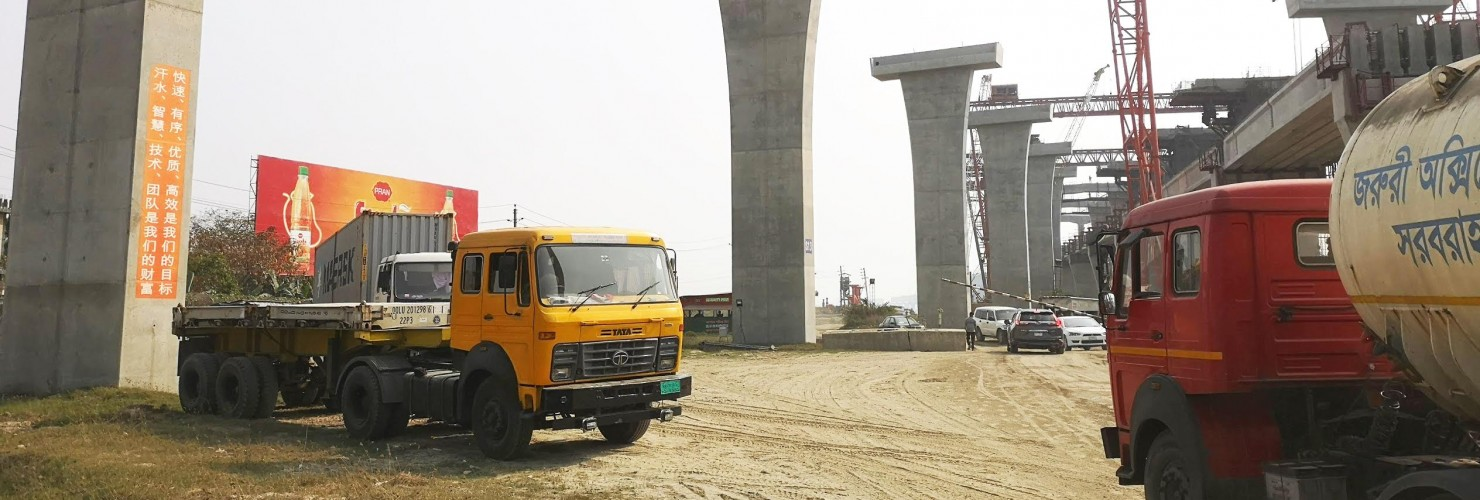 Padma Bridge in Bangladesh, constructed by China Major Bridge Engineering Company