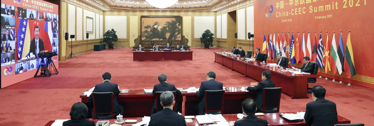China Beijing Xi Jinping China-CEEC Summit
