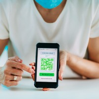 Societal issues have begun to emerge in social media around concerns about false-positive predictions and algorithmic biases. Some netizens have raised questions about the leakage of personal data through health QR code monitoring technology. Picture by microgen via 123rf.