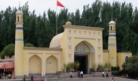 The Id Kah Mosque in Kashgar, Xinjiang
