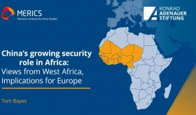 China's growing security role in Africa