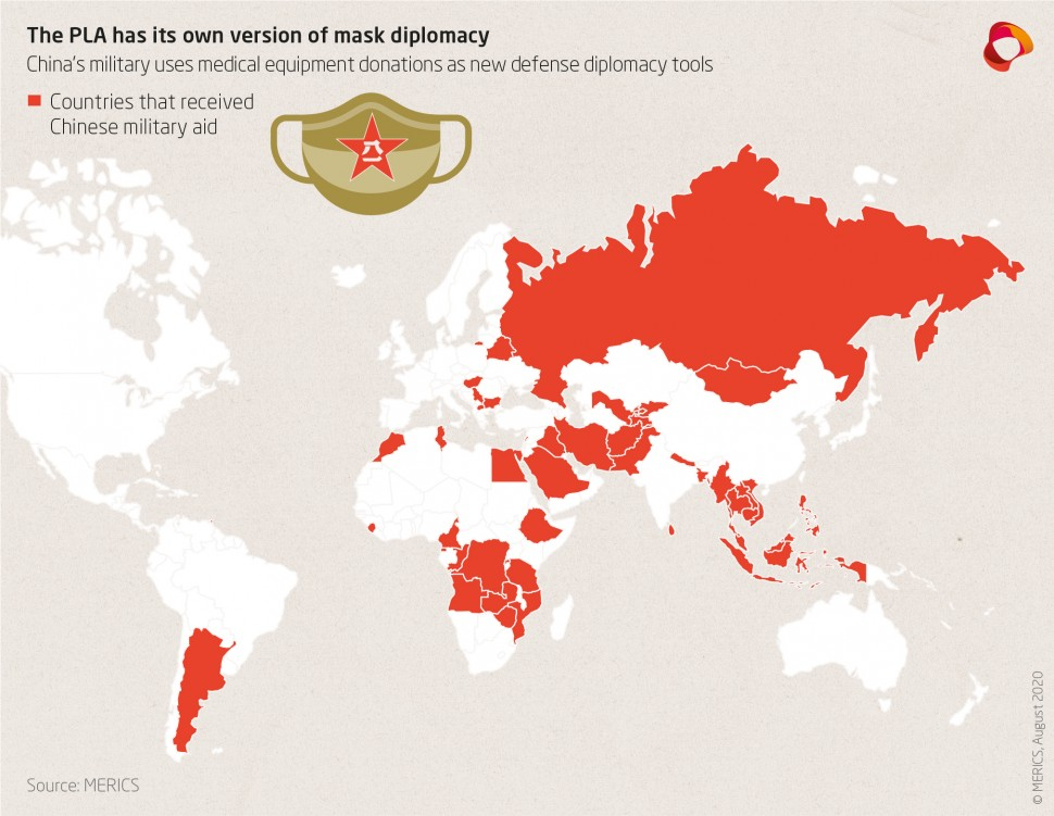 Mask Diplomacy Map